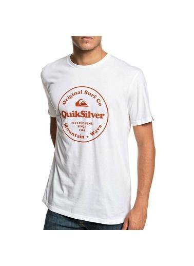 Quiksilver Tişört Beyaz